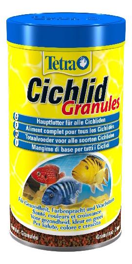 Корм для всех видов цихлид Tetra Cichlid