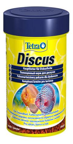 Корм для дискусов Tetra Diskus Food, основной, гранулы,