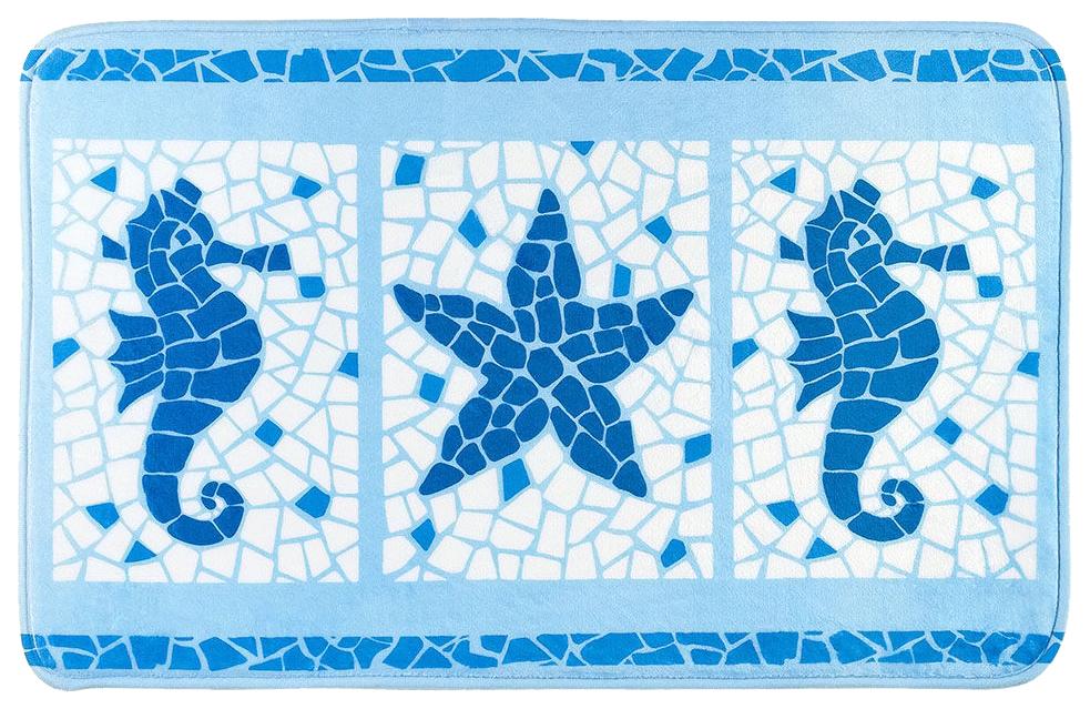 Коврик для ванной Tatkraft Marine Motifs 14916