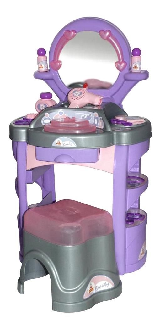 Купить Игровой набор Полесье Palau Toys Салон красоты Диана №4 в коробке, Игрушечные туалетные столики