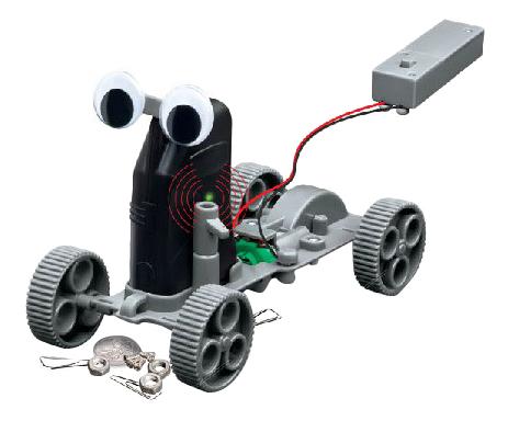 Купить Кладоискатель Управляемый, Интерактивный робот 4M Робот-кладоискатель 00-03297, Интерактивные роботы