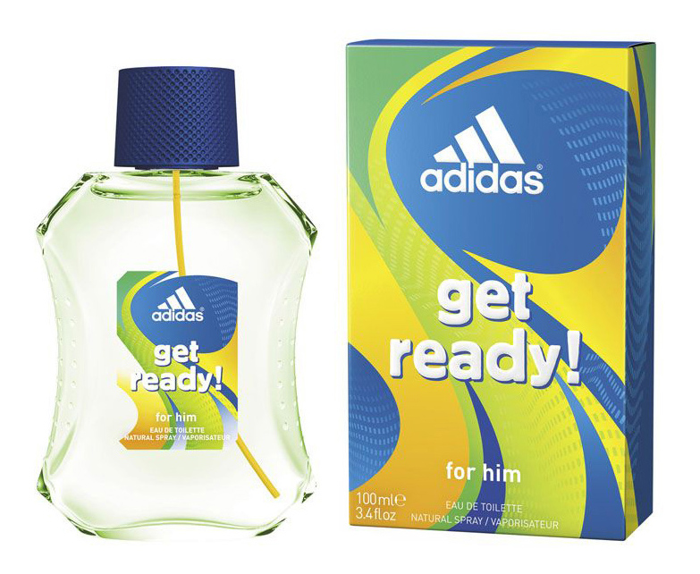 Лосьон после бритья Adidas Get ready! 100 мл