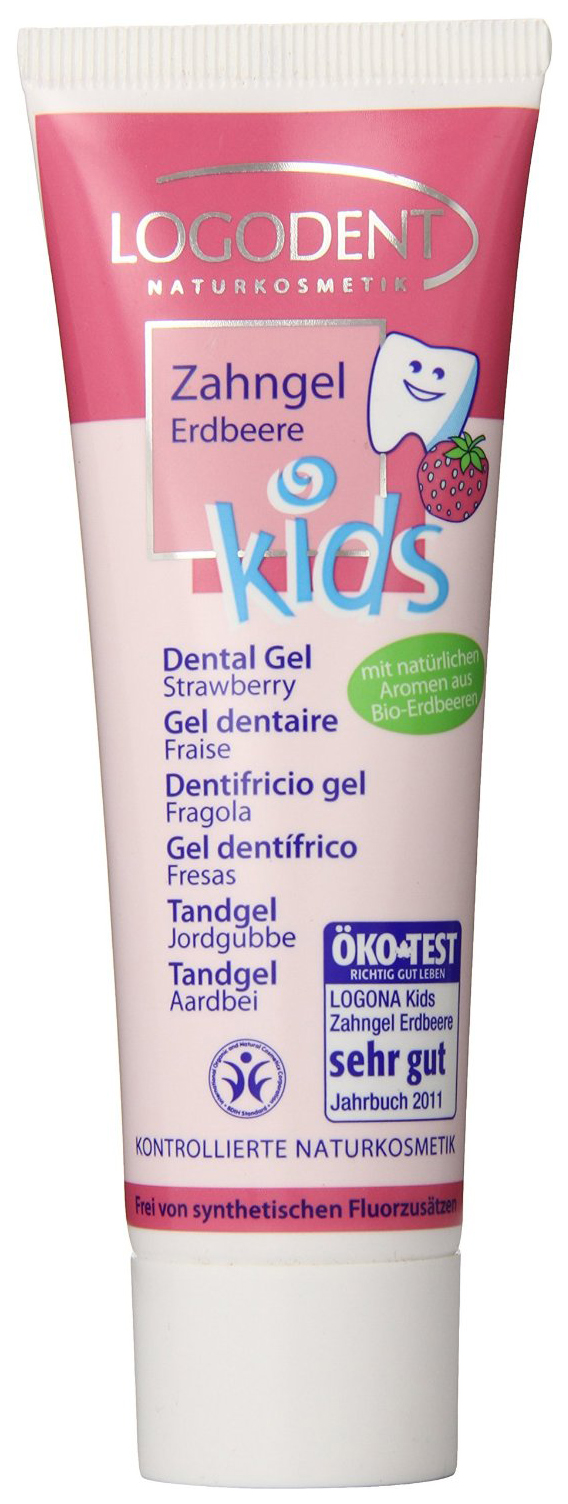 Зубная паста Logona Kids Dental Gel Strawberry 50 мл фото