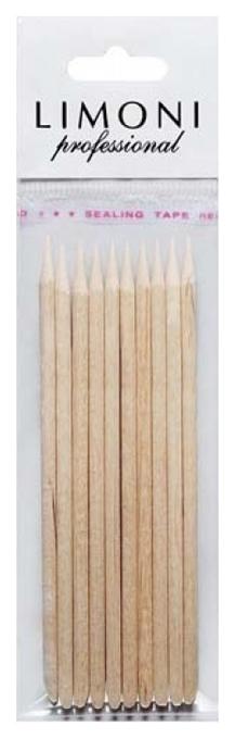 Палочки для кутикулы LIMONI Апельсиновые 10 см 10 шт, limoni professional  - Купить