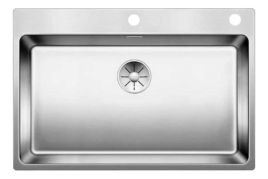 Мойка для кухни из нержавеющей стали Blanco aNDANO 700-IF-A 522995 серебристый фото