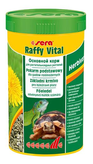 SERA Raffy Vital корм для растительноядных рептилий, 250мл фото