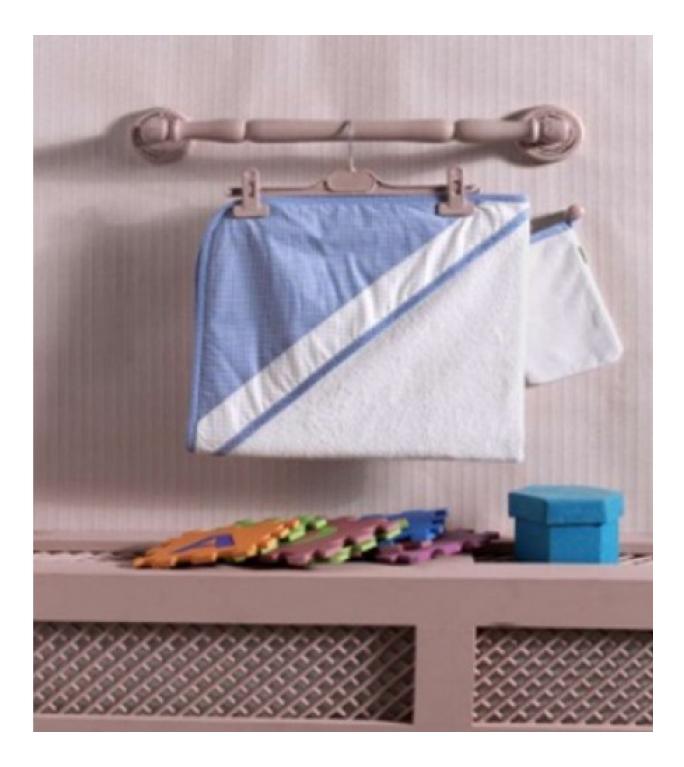 Купить Полотенце детское Kidboo Little Farmer Blue 75*75 см,