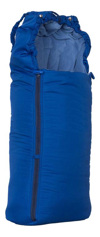 Конверт-мешок для детской коляски Чудо-Чадо Флис темно-синий