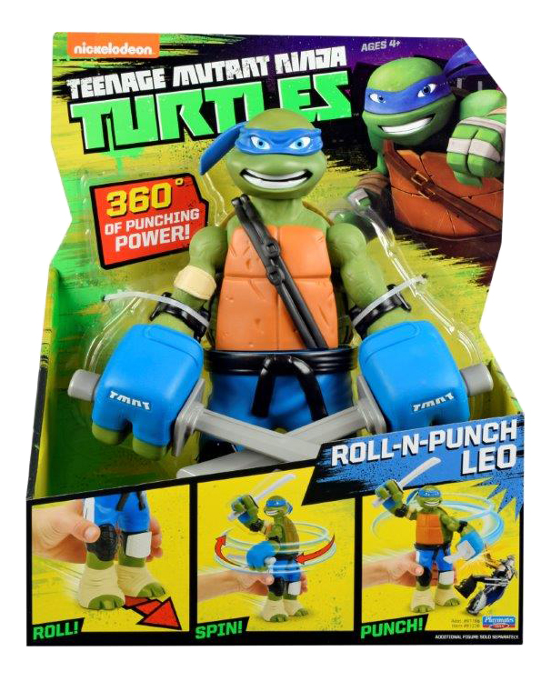 Фигурка Черепашки Ниндзя Teenage Mutant Ninja Turtles Леонардо С разворота! фото