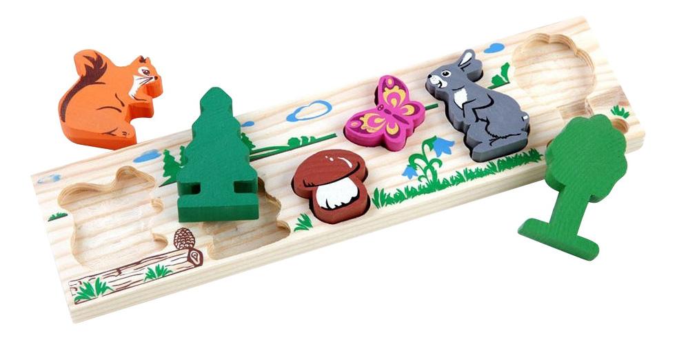 Деревянная игрушка для малышей Томик Лес