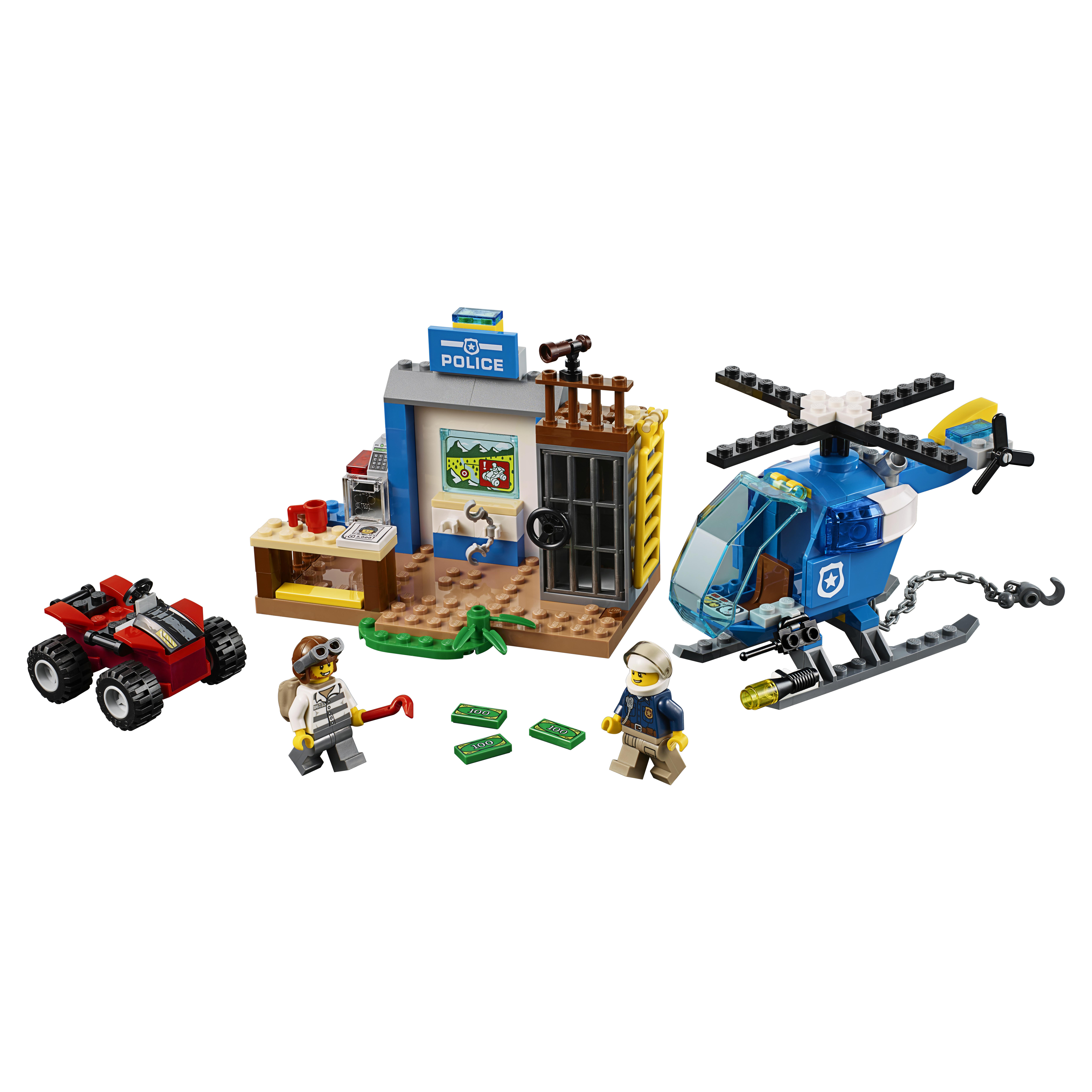 Купить Конструктор lego juniors погоня горной полиции (10751), Конструктор LEGO Juniors Погоня горной полиции (10751), LEGO для мальчиков