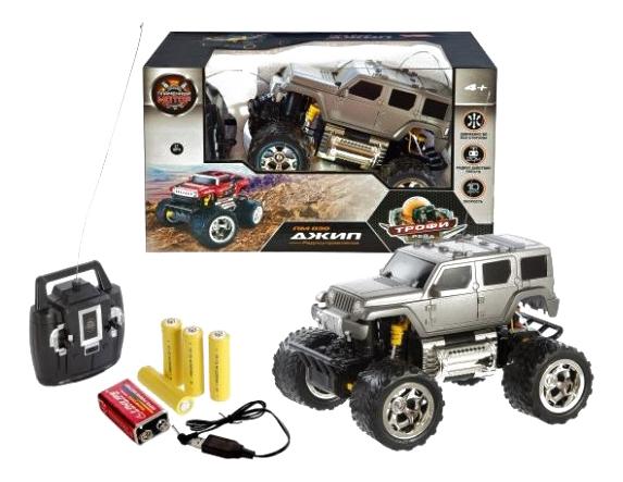 Купить Радиоуправляемая машинка Пламенный Мотор Джип ПМ 030 870263, Пламенный мотор, Радиоуправляемые машинки