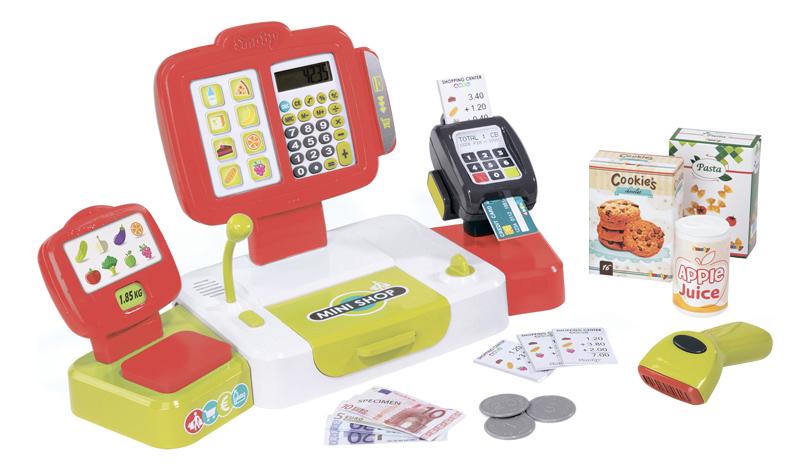 Касса игрушечная Smoby Детская электронная касса фото