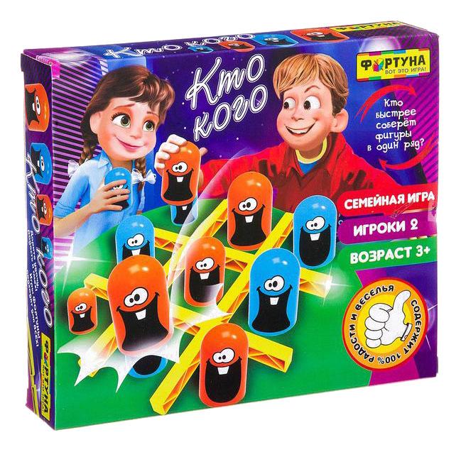 Купить Настольная игра Фортуна Кто кого, Семейные настольные игры