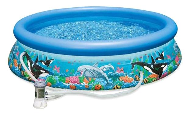 Купить Бассейн надувной INTEX Easy Set 28126, Детские бассейны