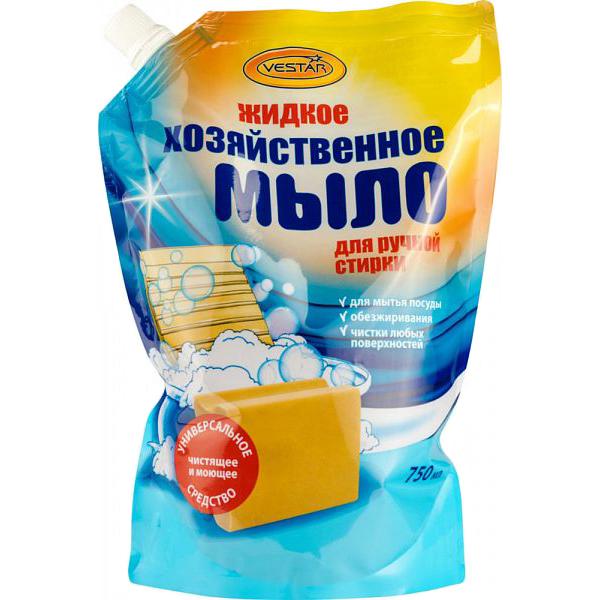Жидкое мыло хозяйственное Вестар для ручной стирки