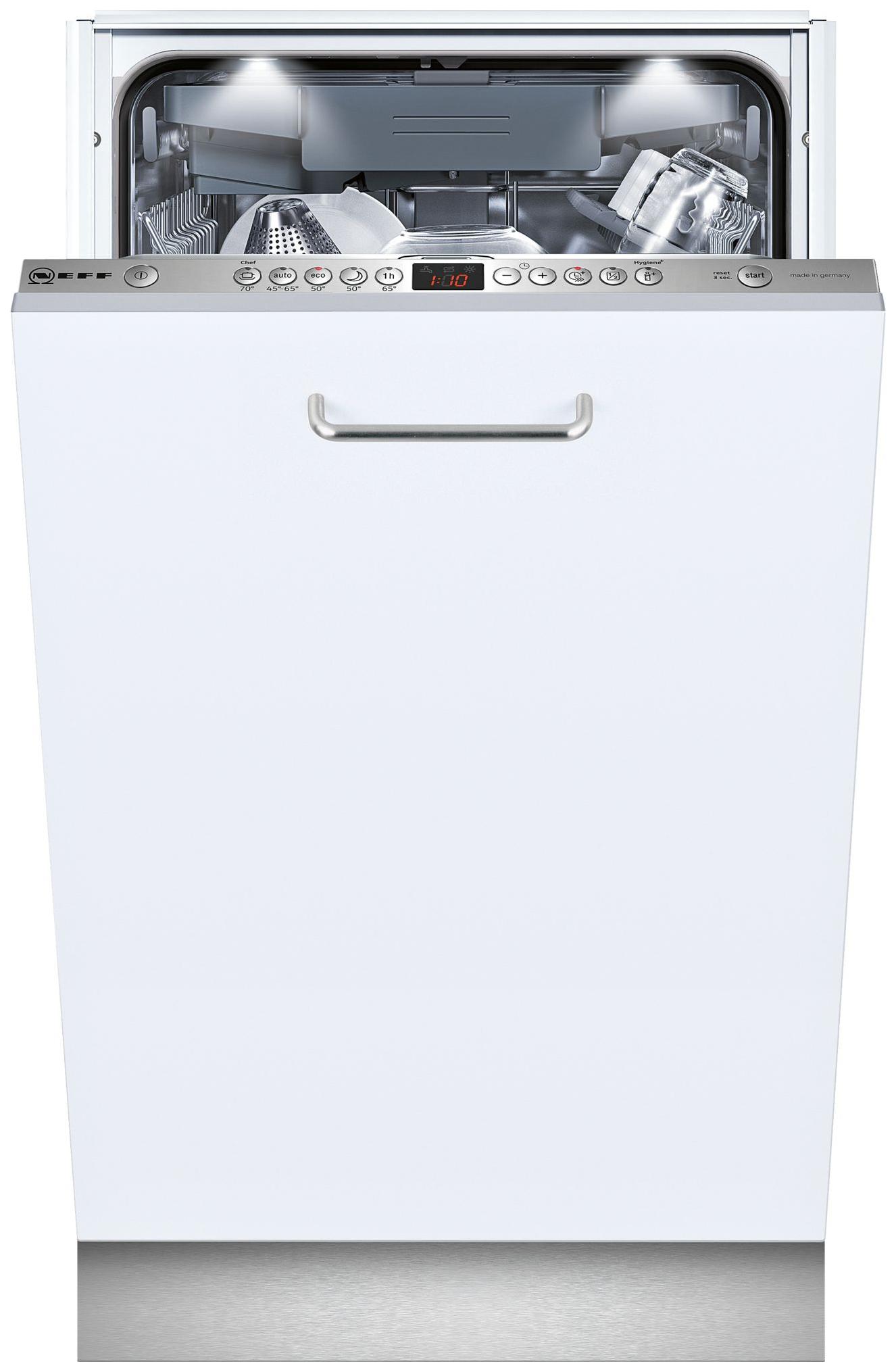 Встраиваемая посудомоечная машина 45 см Neff S585M50X4R