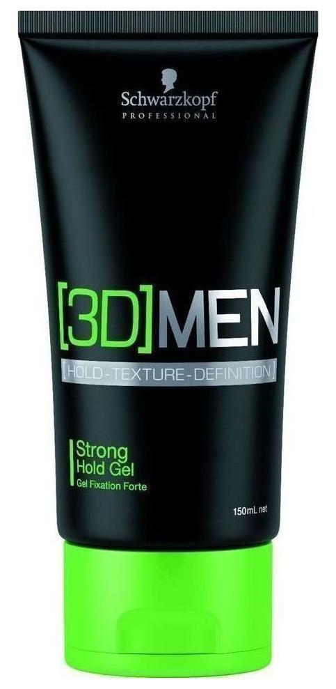 Гель для укладки Schwarzkopf Professional [3D]MEN Гель для волос сильной фиксации 150 мл