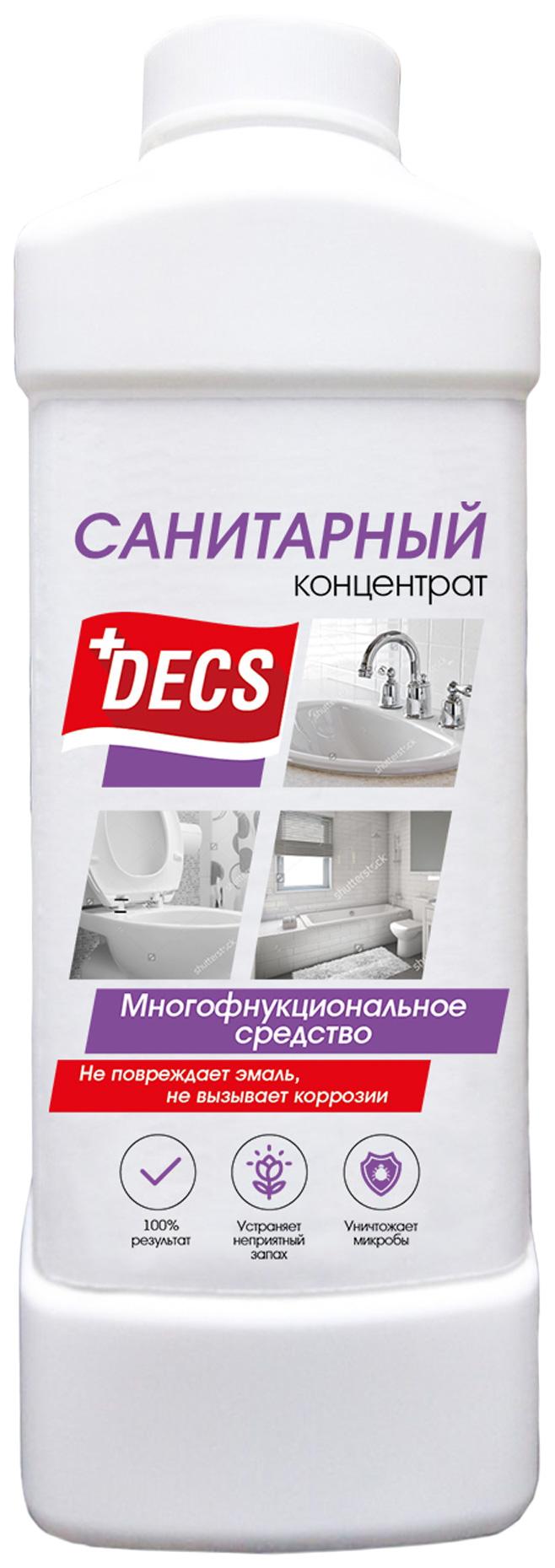 Многофункциональное средство Decs sanitary для ванных комнат