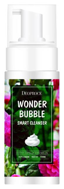 Пенка для умывания Deoproce Wonder bubble smart