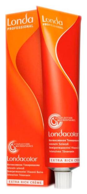 Краска для волос Londa Интенсивное тонирование, 5/57 светлый шатен красно-коричневый 60 мл