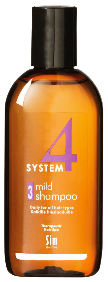 SIM SENSITIVE SYSTEM 4 THERAPEUTIC CLIMBAZOLE SHAMPOO 3