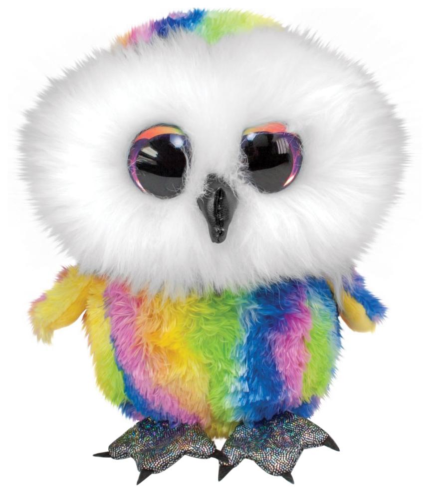 Купить Мягкая игрушка Tactic Сова Stripe, цветная, 15 см, Мягкие игрушки птицы