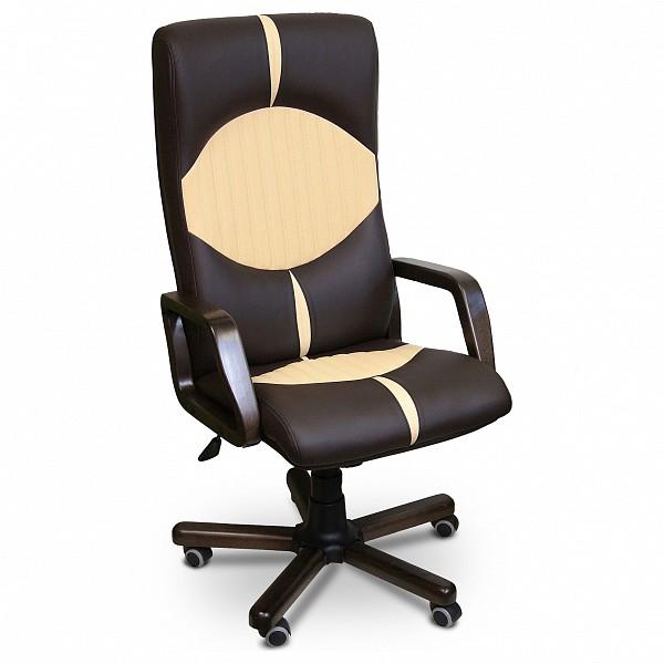 Компьютерное кресло Креслов Гермес KV_16-120022_0429_0413, коричневый фото