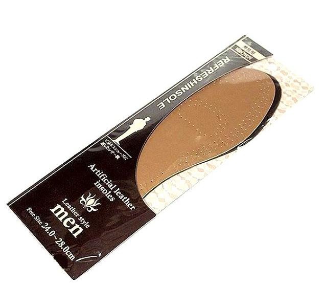Стельки для классической мужской обуви Fudo kagaku коричневые 24-28 см