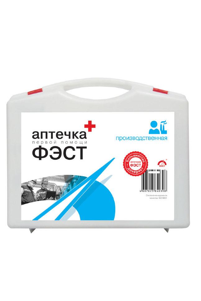 Аптечка первой помощи ФЭСТ для промышленных предприятий (футляр