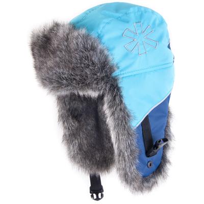 Шапка-ушанка Norfin 305780, синяя, XL фото