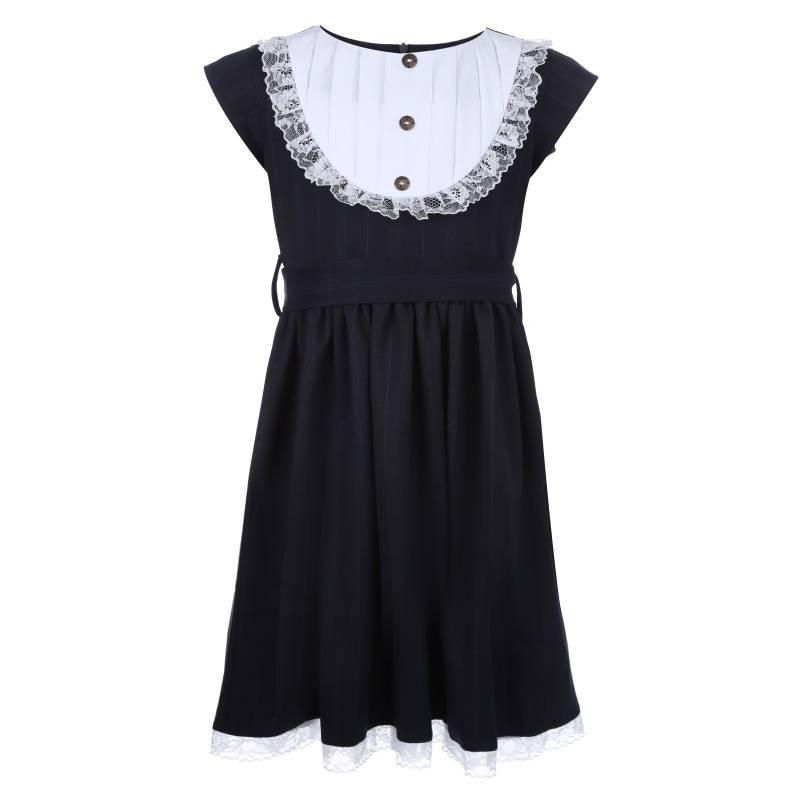Купить Платье Polina Golub, цв. темно-синий, 122 р-р, Детские платья и сарафаны