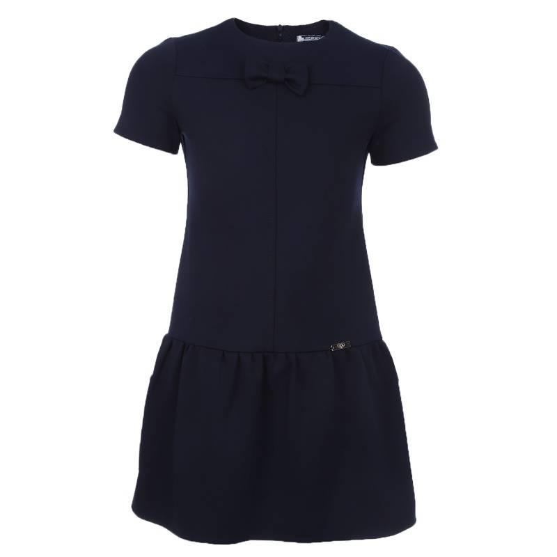 Купить ШФ-1167, Платье SkyLake, цв. темно-синий, 40 р-р, Платья для девочек