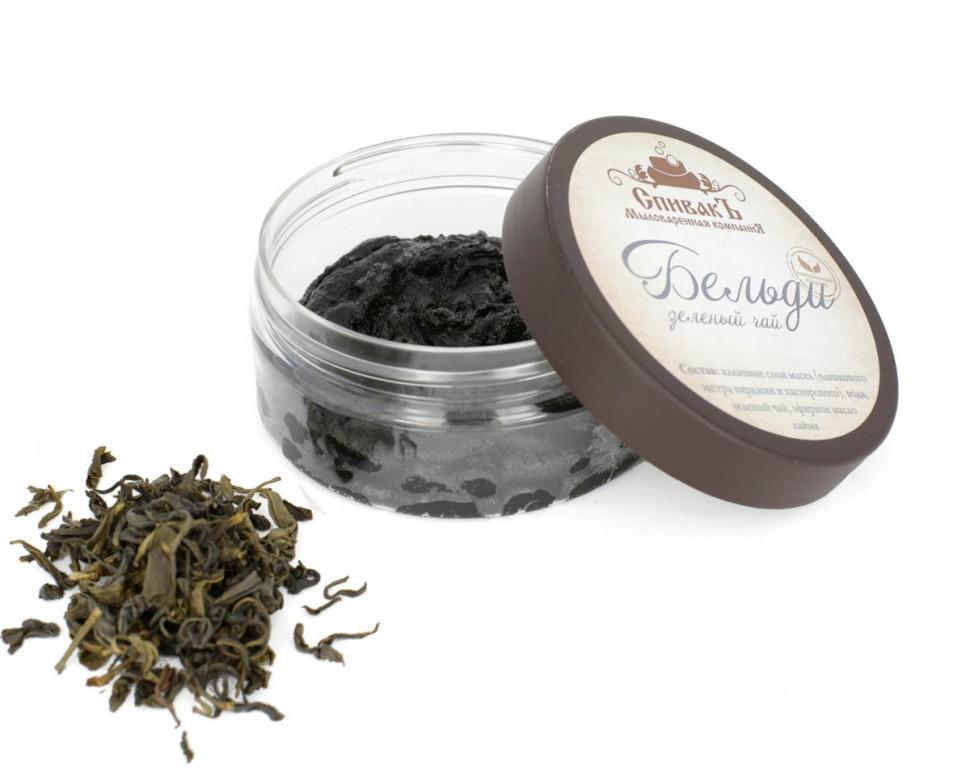 Бельди Спивакъ с зеленым чаем