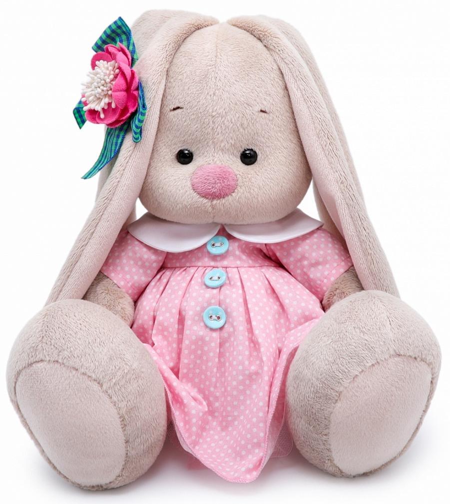 Мягкая игрушка BUDI BASA SidM-334 Зайка Ми Розовый крем 23см