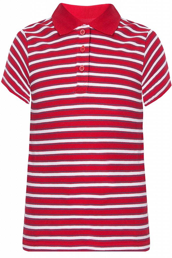 Купить KS18-81016, Футболка Поло для мальчика Finn Flare, цв. красный, р-р. 128, Детские футболки, топы
