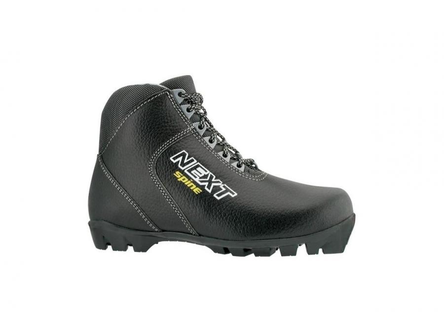 Ботинки лыжные NNN SPINE Next (кожа) 43р.