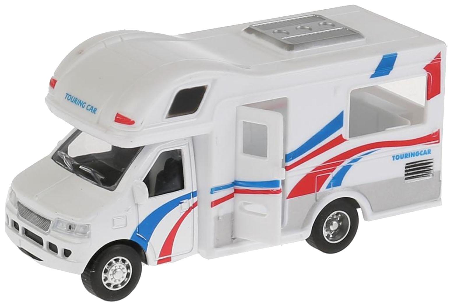 Купить Машина инерционная Дом на колесах 12, 5 см, Технопарк, Коллекционные модели