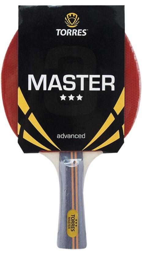 Ракетка для настольного тенниса Torres Master 3, Тренировочный TT0007
