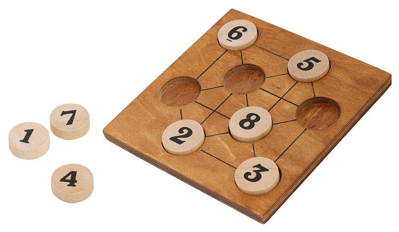 Головоломка Professor Puzzle  8 цифр