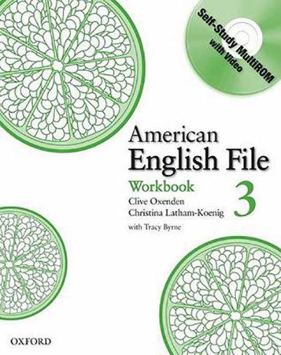 American English File 3. Workbook (+ CD-ROM)