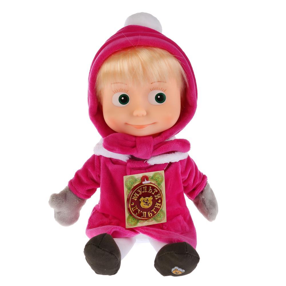 Купить Мягкая игрушка Мульти-Пульти Маша 29см в зимней одежде,
