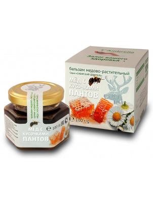 Сибирский Целитель Ambrella мед с кусочками пантов