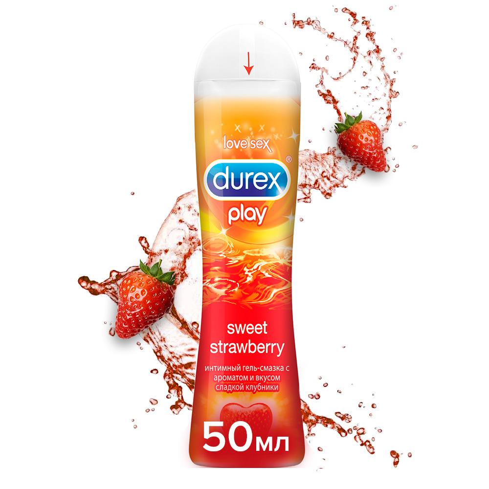 Купить Гель-смазка Durex Play Sweet Strawberry 50 мл