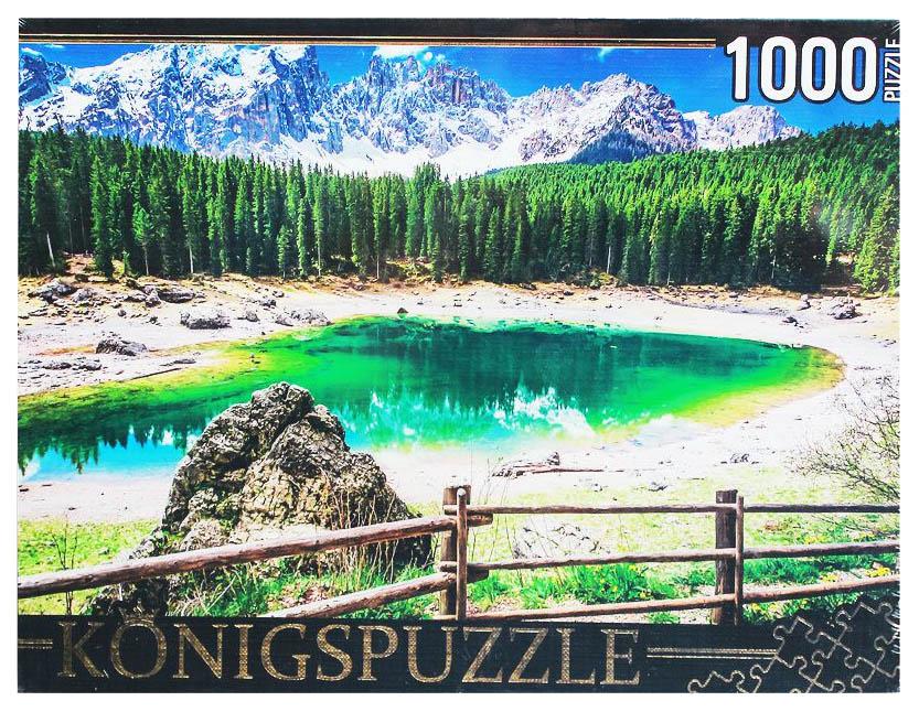 Купить Пазл Konigspuzzle Италия Озеро радуги ГИК1000-8261 1000 элементов, Пазлы