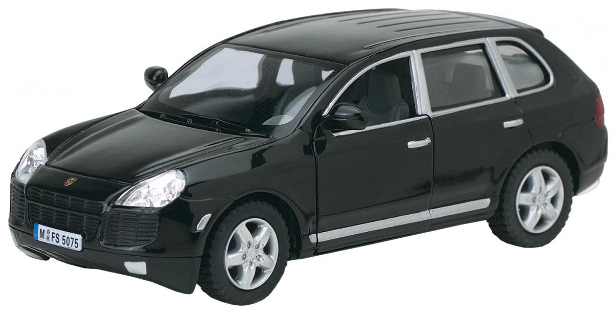 Купить Машина инерционная Kinsmart Porsche Cayenne Turbo, масштаб 1:38, открываются двери, Коллекционные модели
