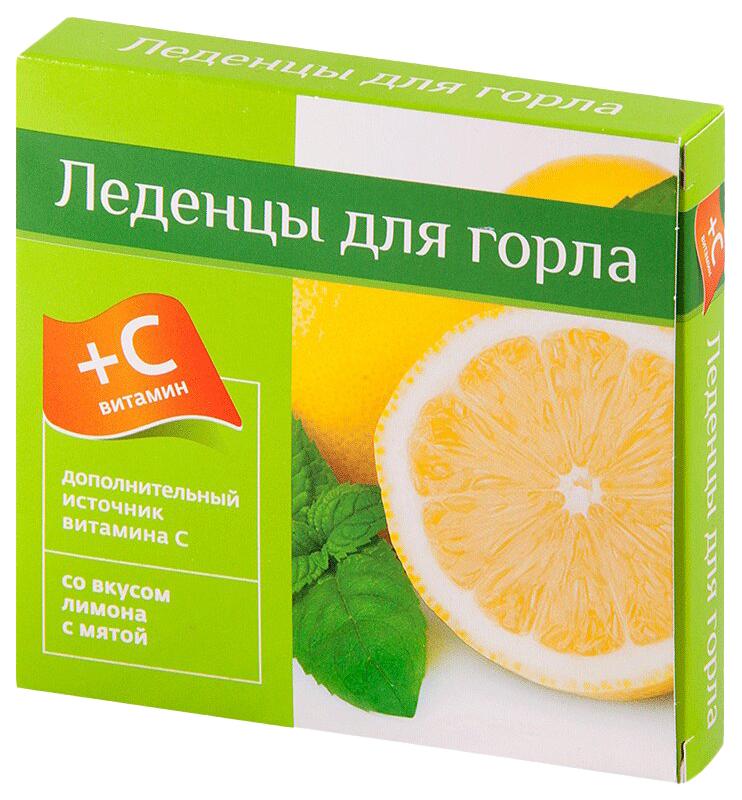 Леденцы с витамином С PL со вкусом лимон-мята 9 шт.