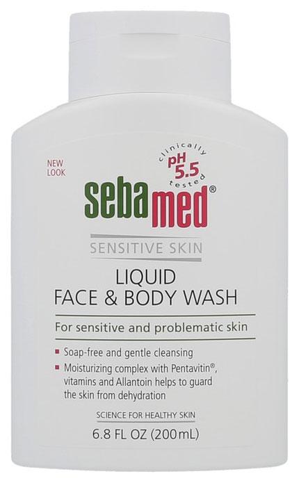 Гель для умывания Sebamed Sensitive Skin Liquid Face #and# Body Wash 200 мл
