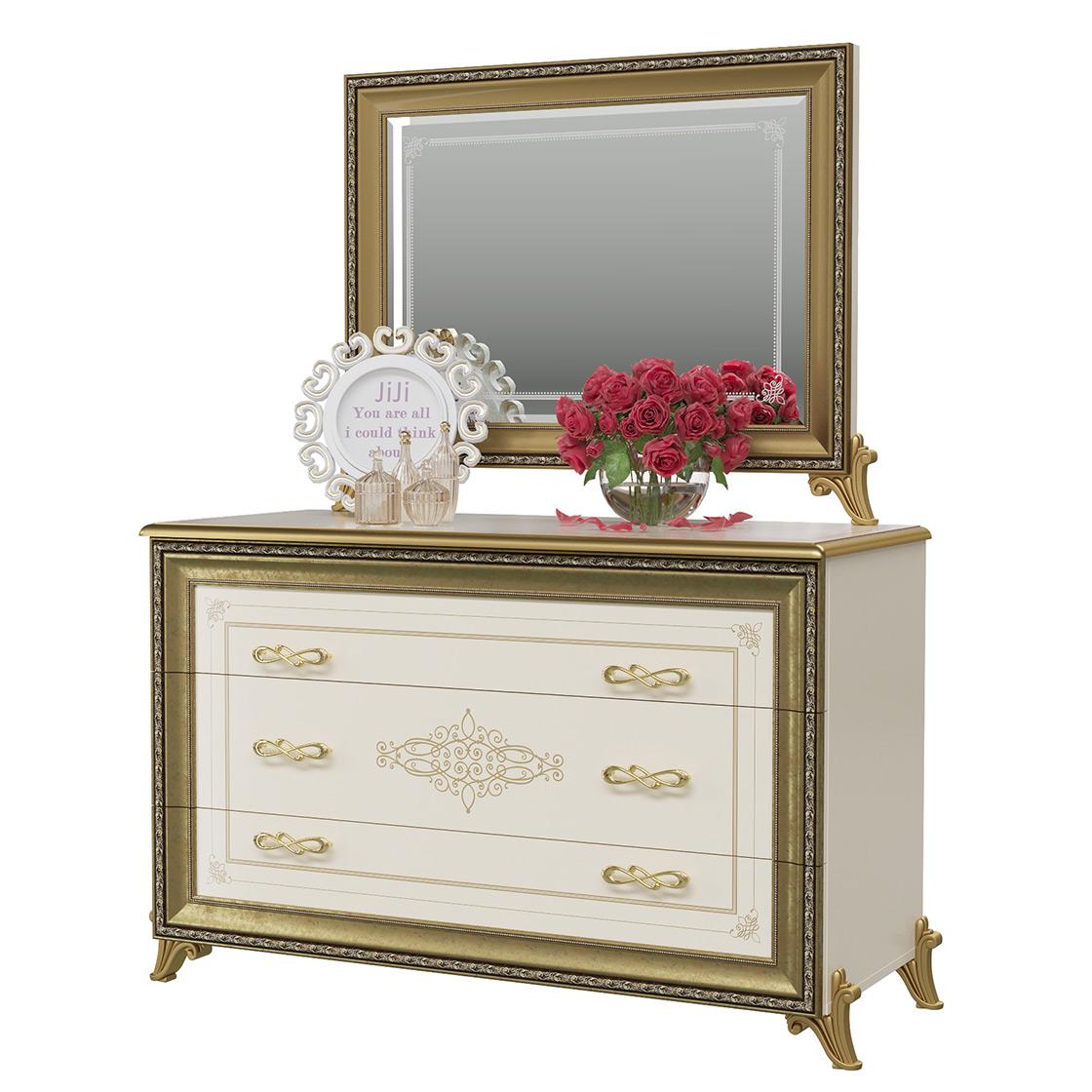 Комод с зеркалом Мэри Мебель Версаль