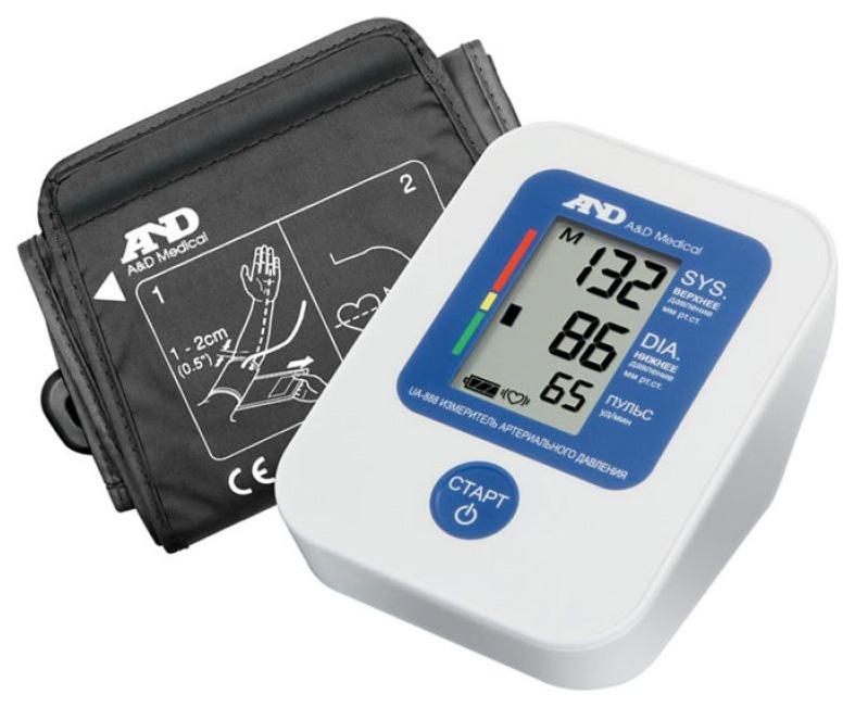 Тонометр A&D UA 888E I01000 автоматический